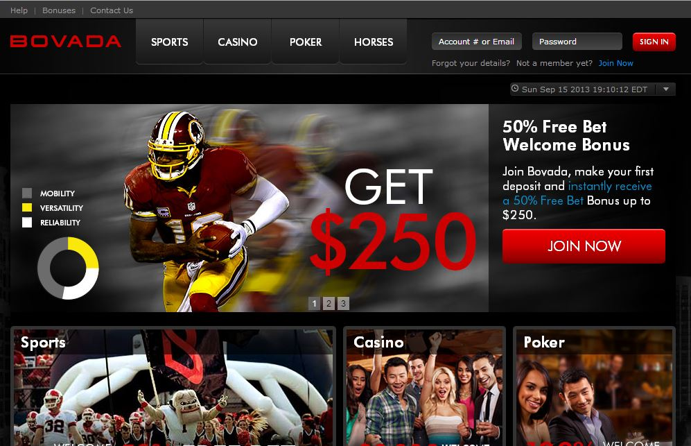 best online sportsbook for american players bovada hockey