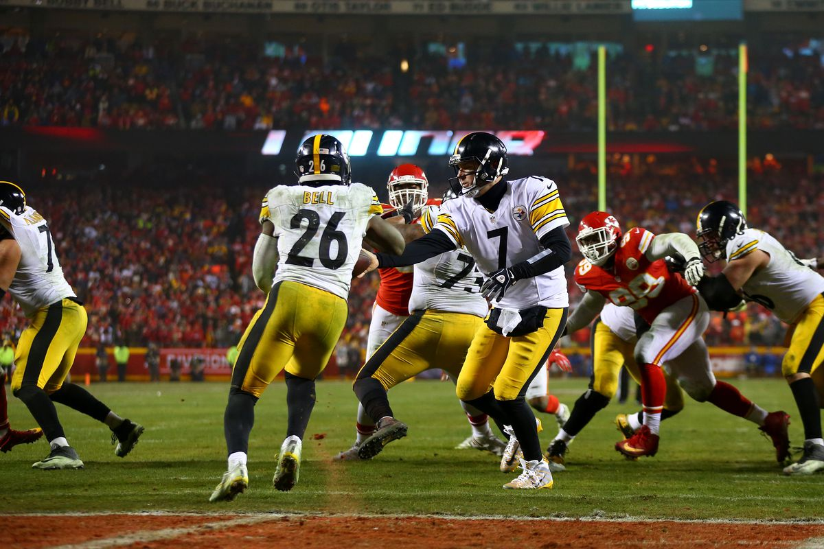 Steelers seing little action in Sunday game against Chiefs