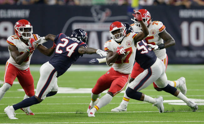 Chiefs and Texans Combined to scored 76 points Sunday night