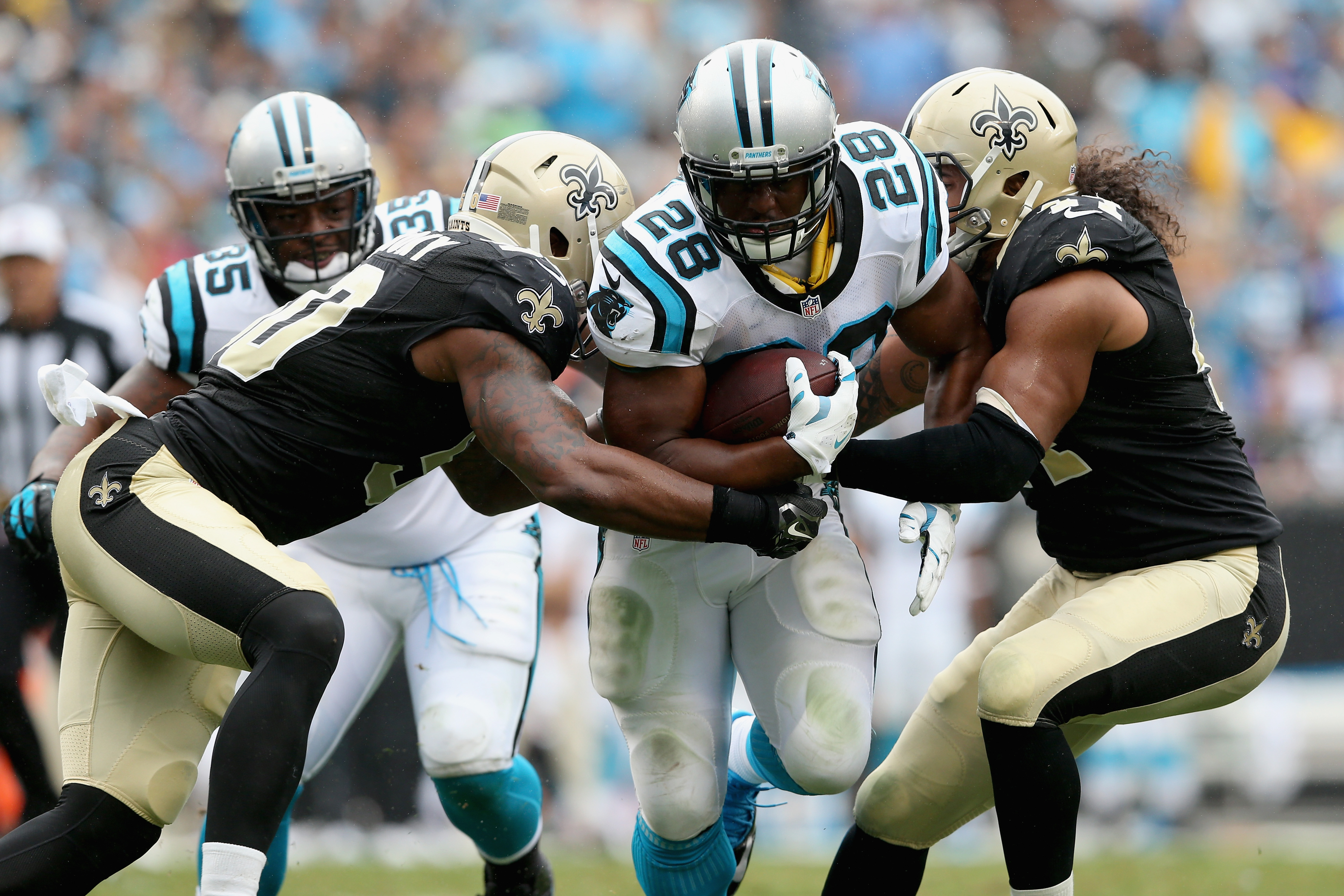saints vs panthers 2017