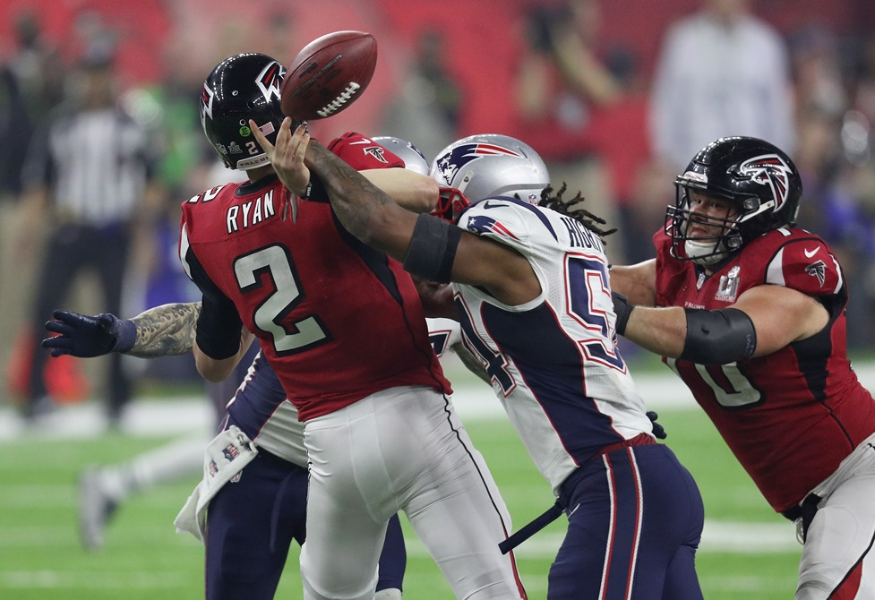 Will New England defense slow down Matt Ryan