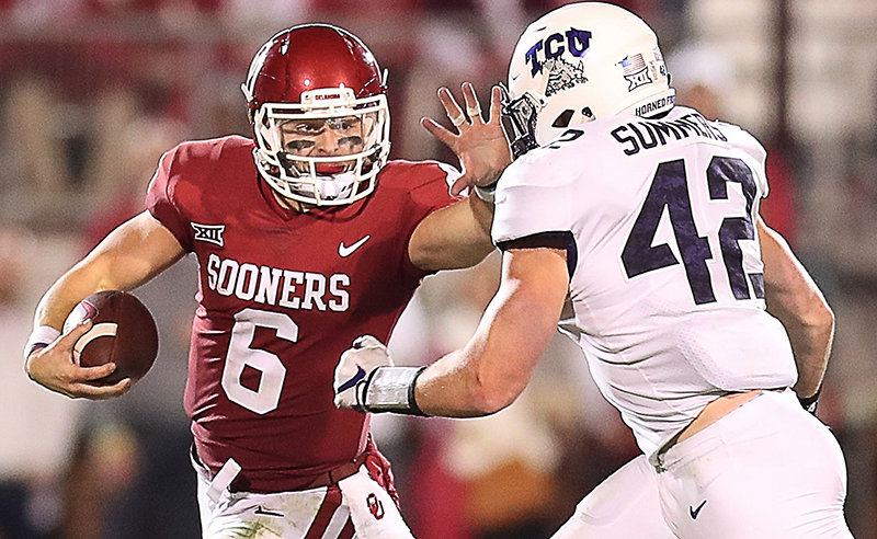 Baker Mayfield hopes to lead Okahoma to the national title