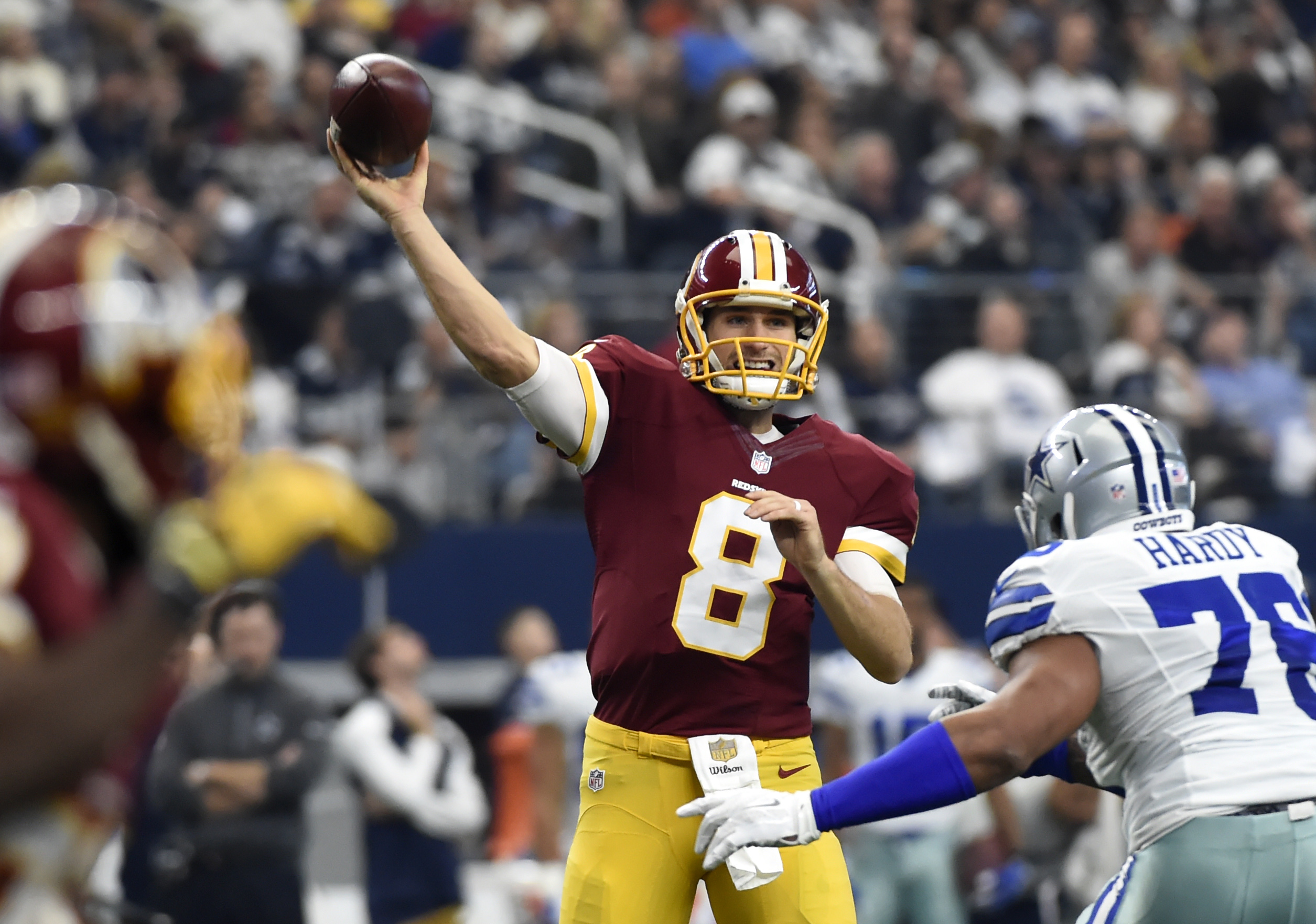 Kirk Cousins plays very well against Dallas