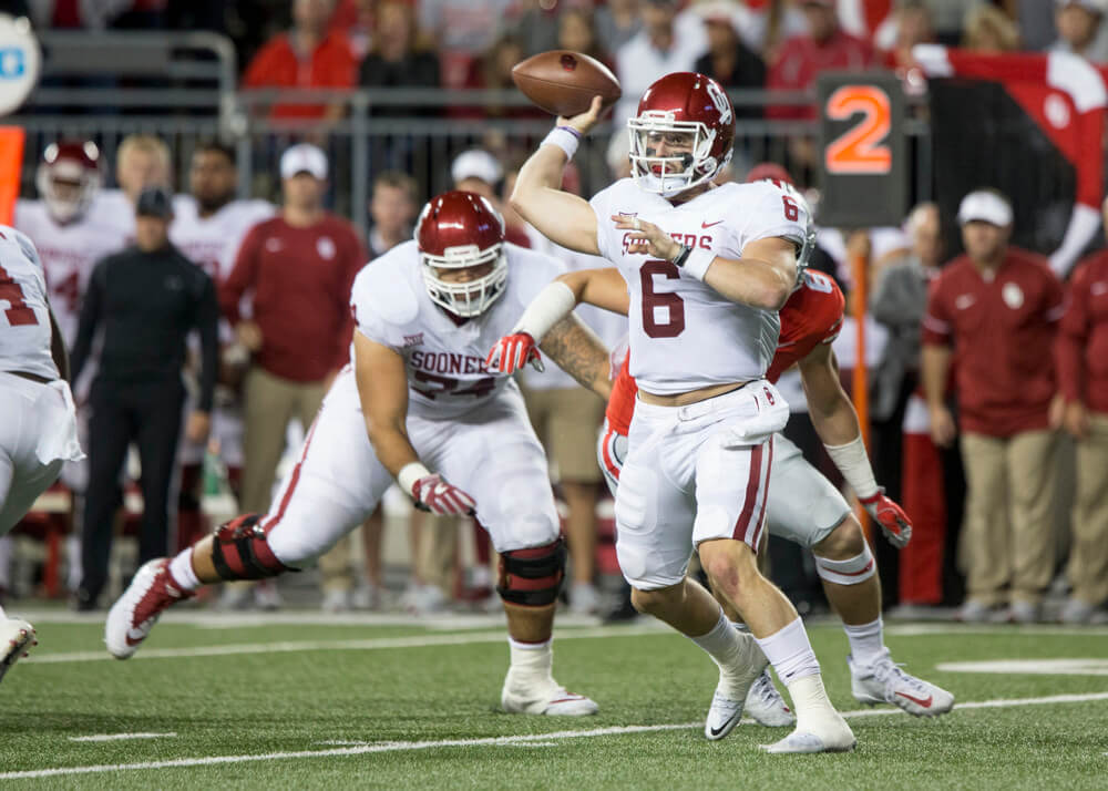 Mayfield has become overwhelming favorite to win the Heisman Trophy