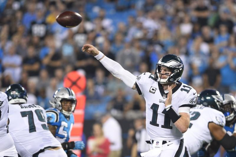 Carson Wentz will look to shred Cowboys defense