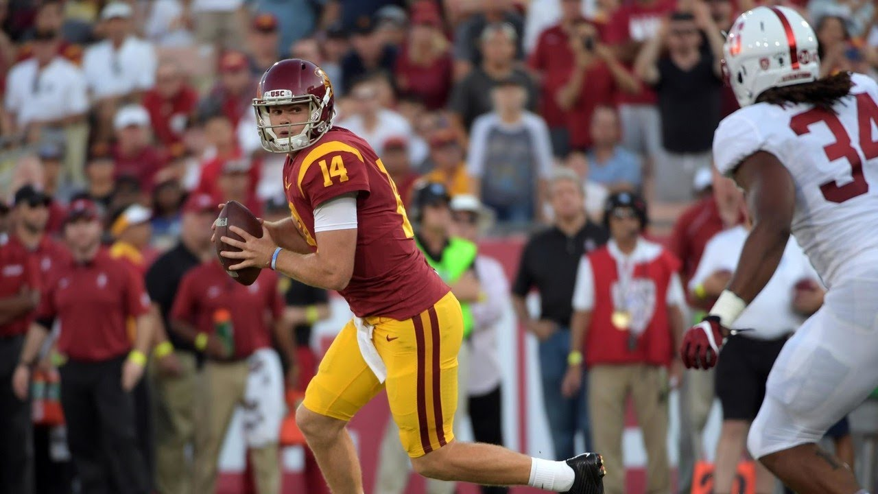 Sam Darnold looks to lead USC over Stanford in Pac-12 title game