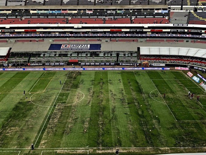 Mexico field too bad for NFL game