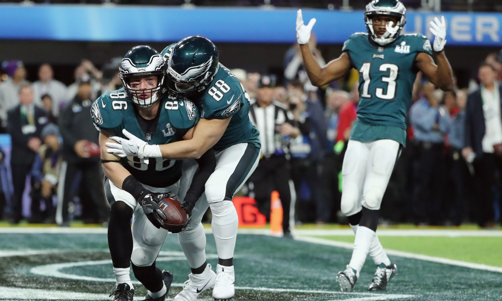 eagles betting week 1 playoffs