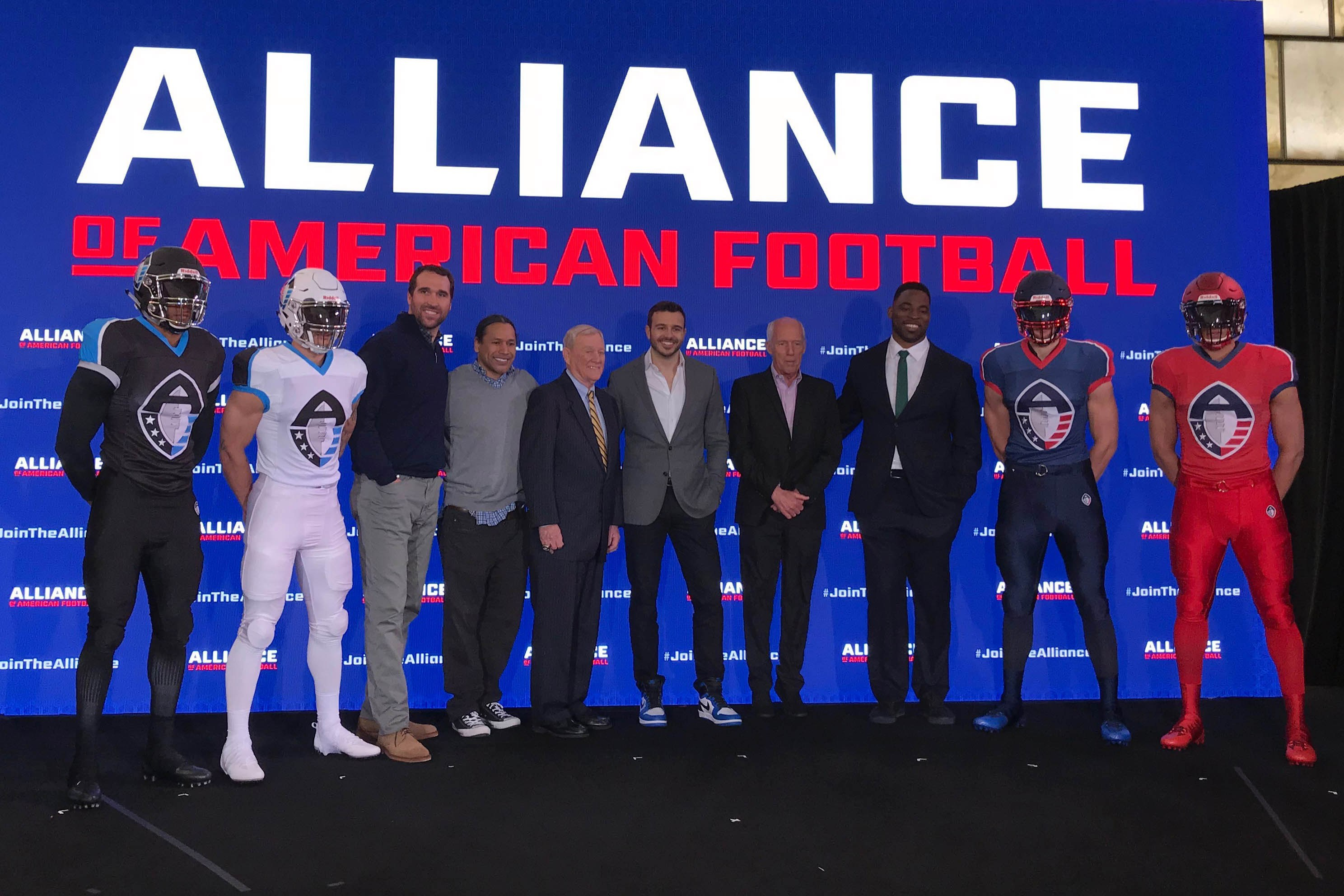 aaf football spreads