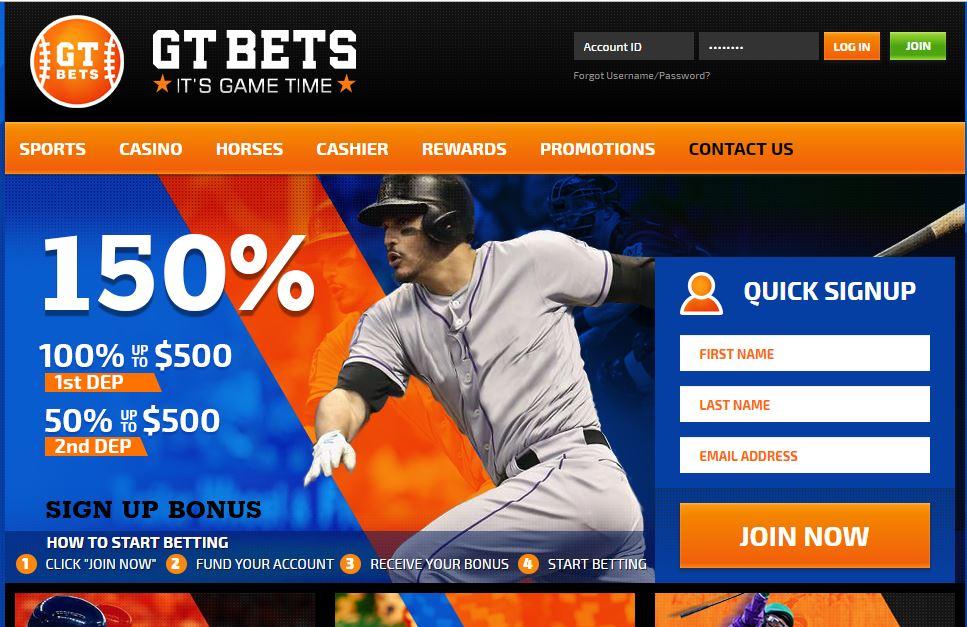 GT bets sportsbooks news