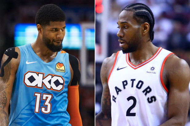 george and leonard to clippers and new nba odds