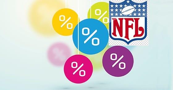 nfl bet percentages week 1