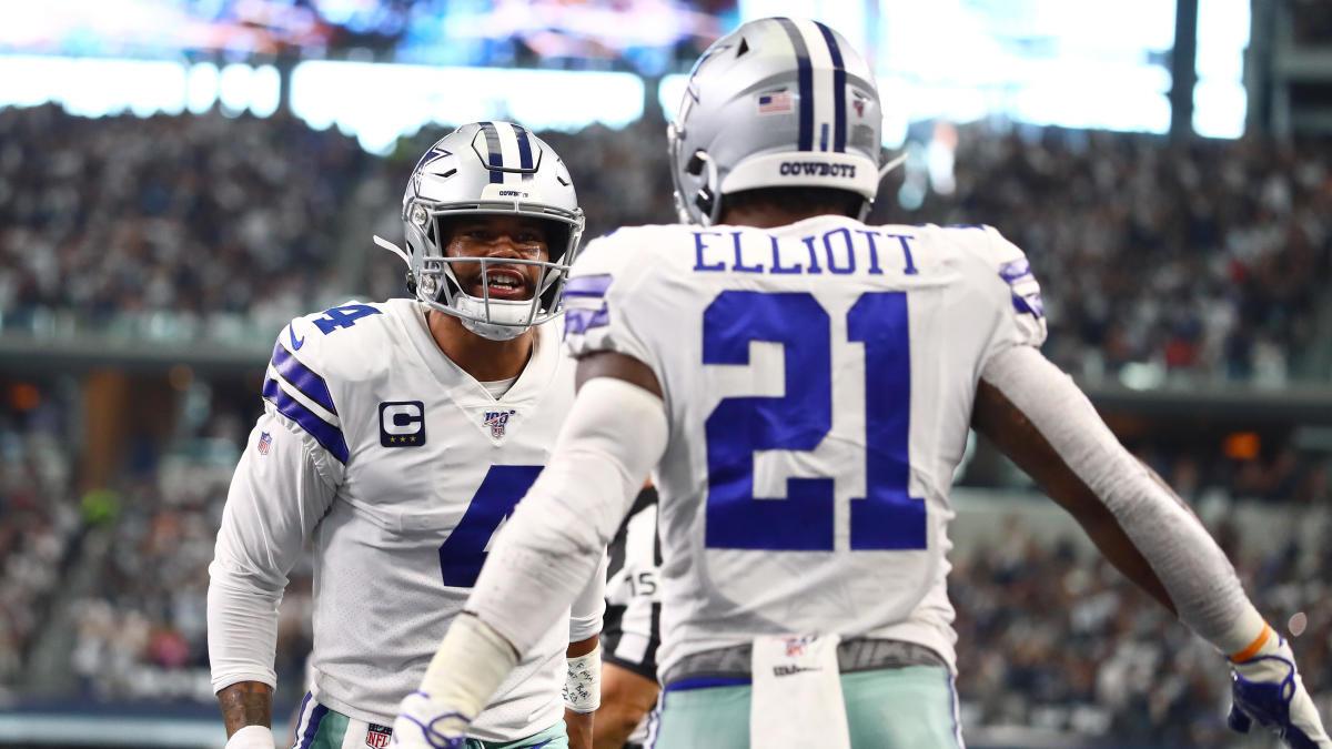 Cowboys 5.5 point road favorites