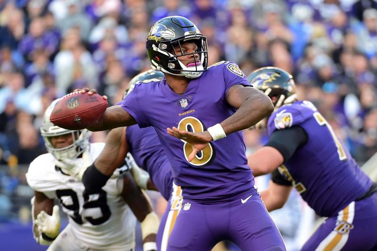 Ravens lead the division and odds are