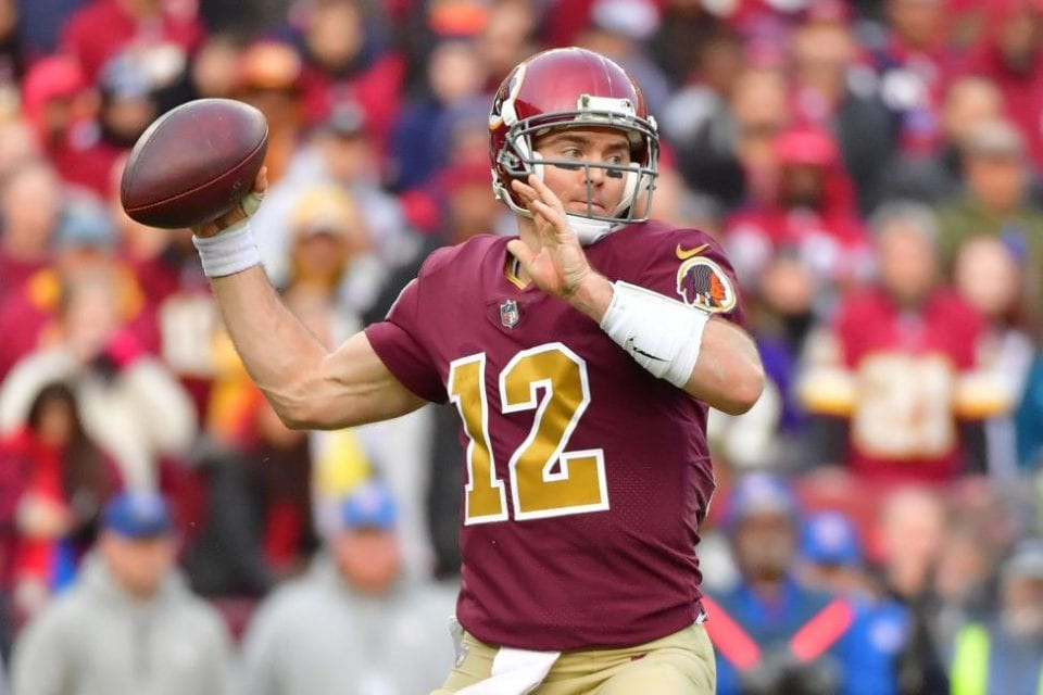 Colt McCoy will be starting against New England