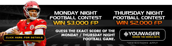Monday night football contest