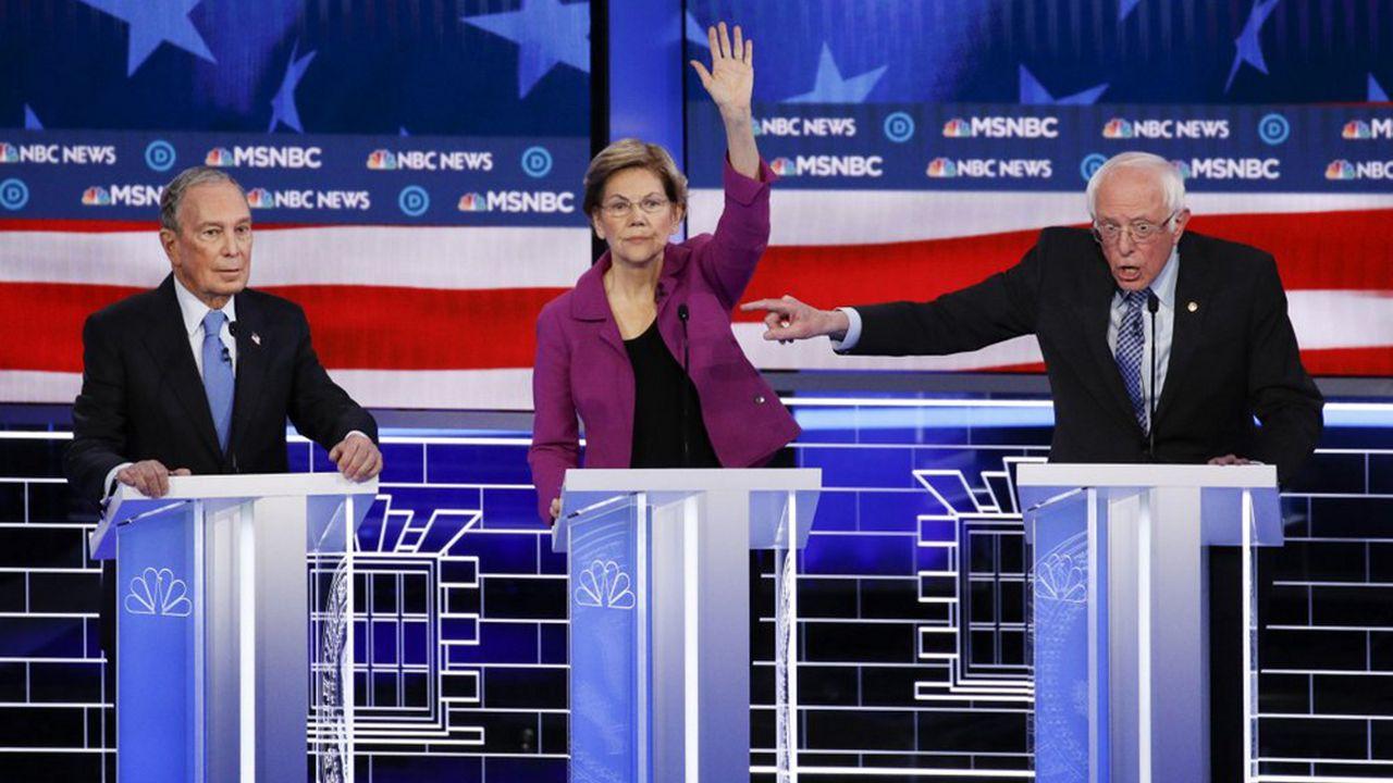Democratic debate feb. 19 2020