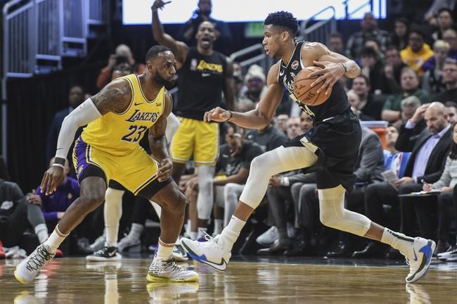 Bucks vs Lakers free pick