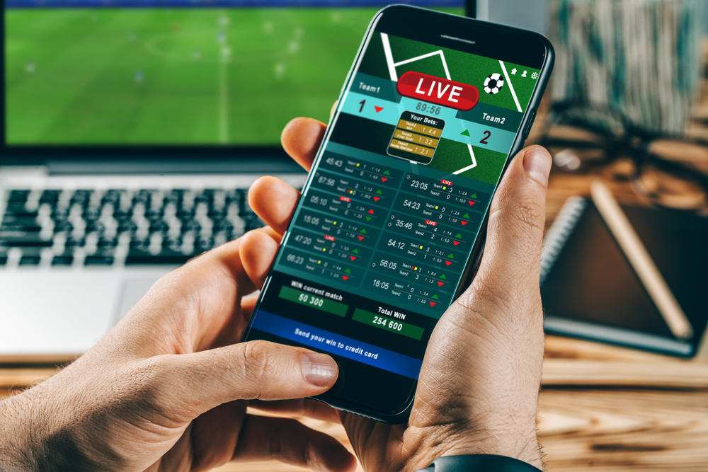Live in-game betting