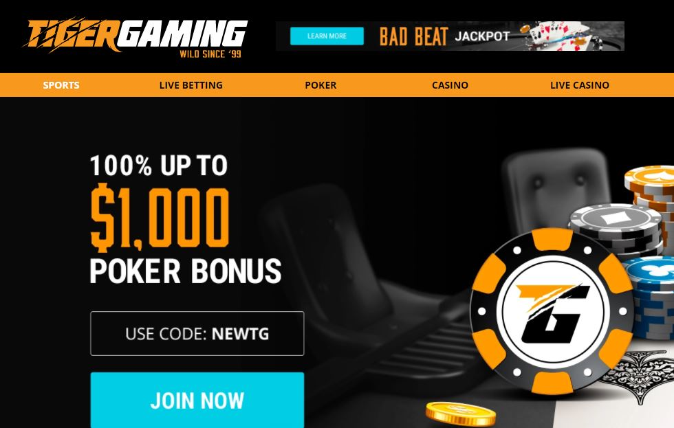 Tiger gaming sportsbook review