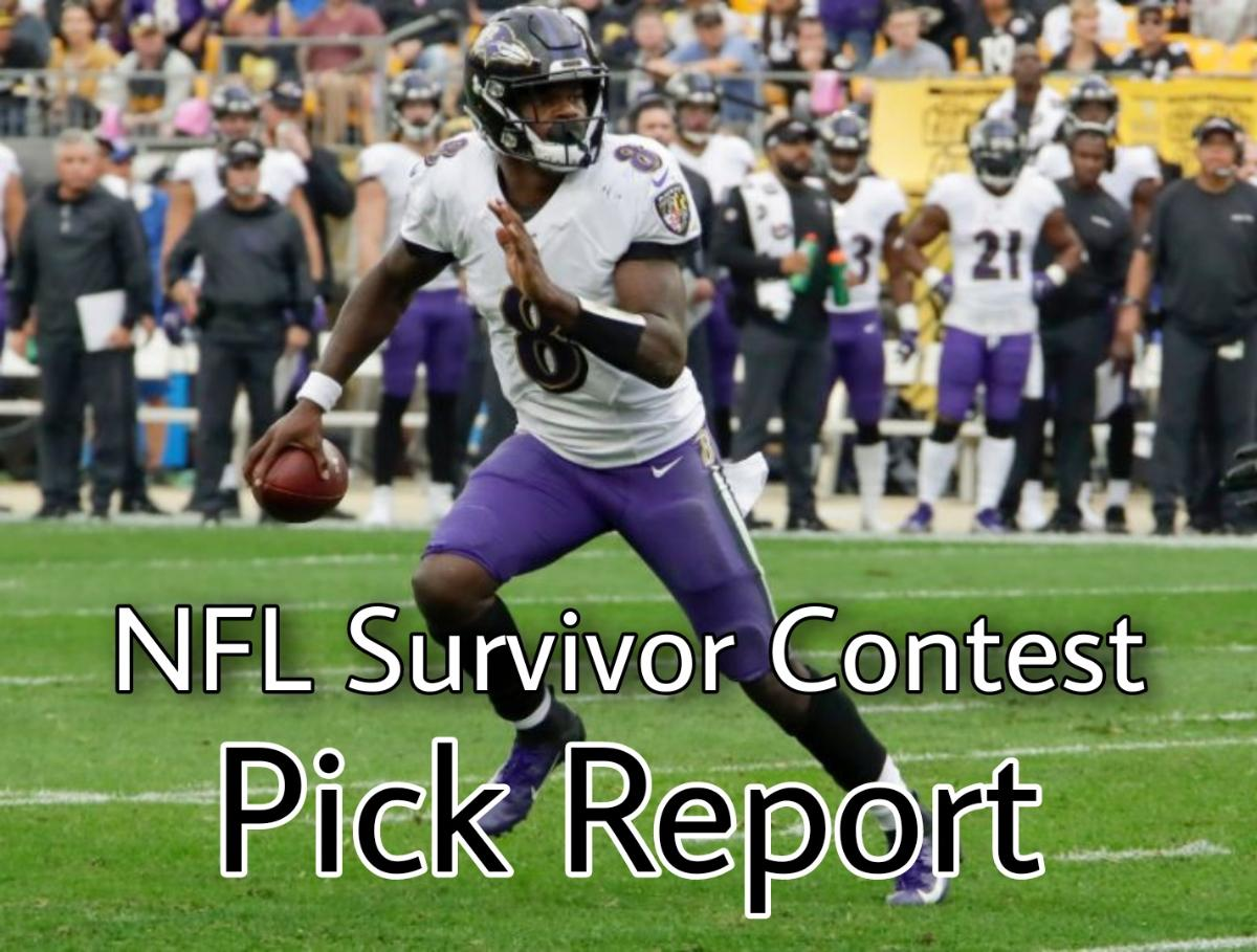 NFL Survivor - What are they picking?