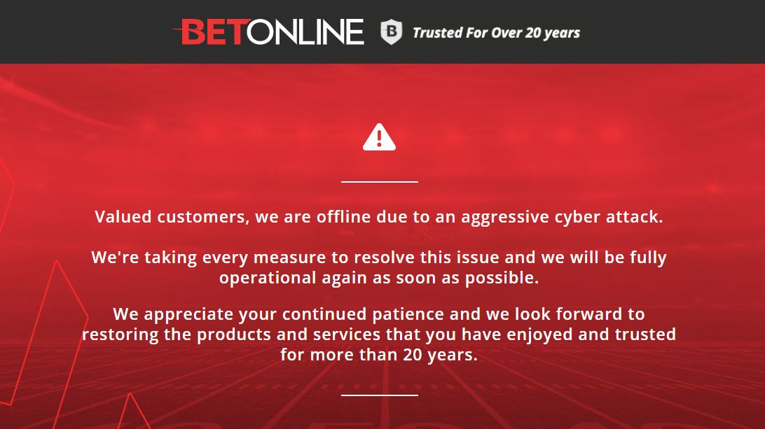 Is Betonline Down