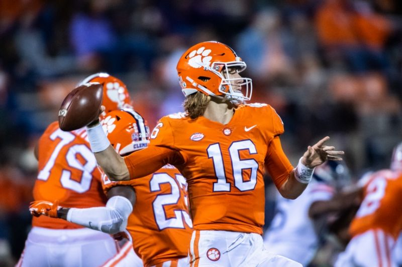 Trevor Lawrence point spread covid