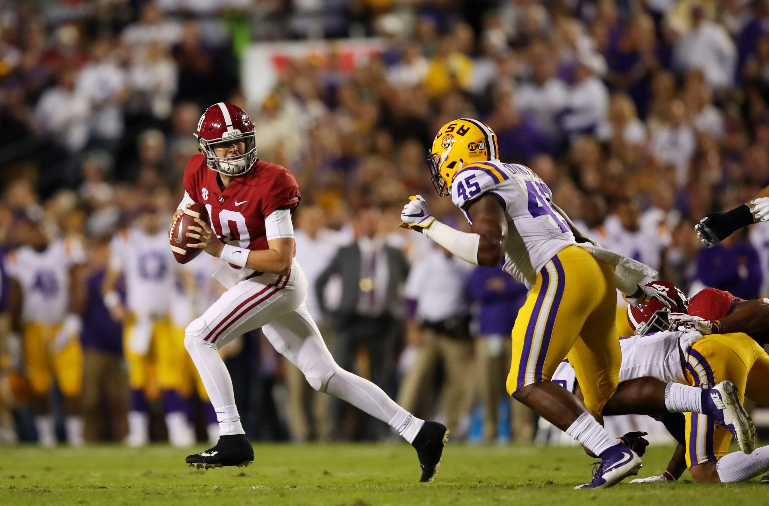 Alabama vs LSU free pick