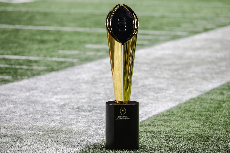 college football championship point spread