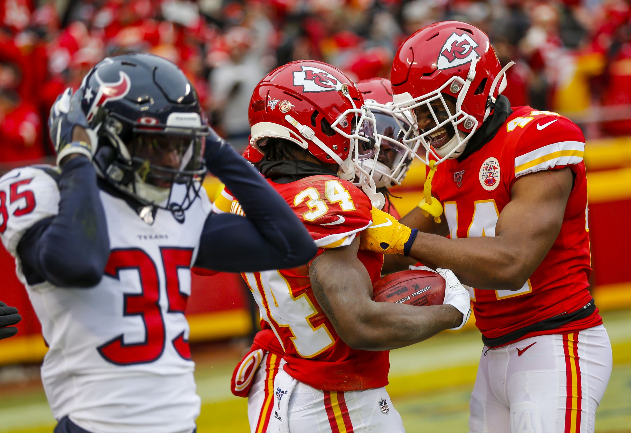 KC vs Houston was a great game to live bet