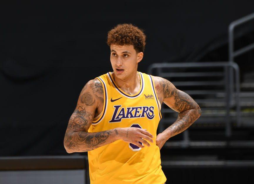 Klye Kuzma Bids goodbye to Lakers